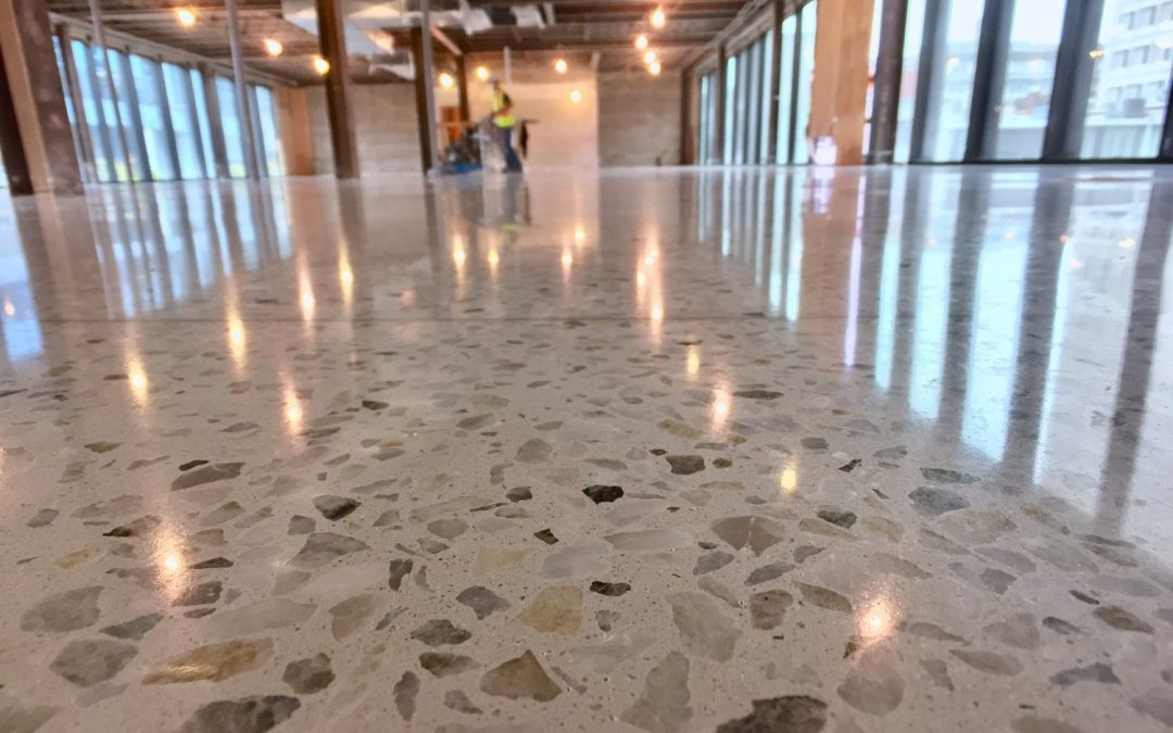 Polished Concrete Topping: Republic Architecture