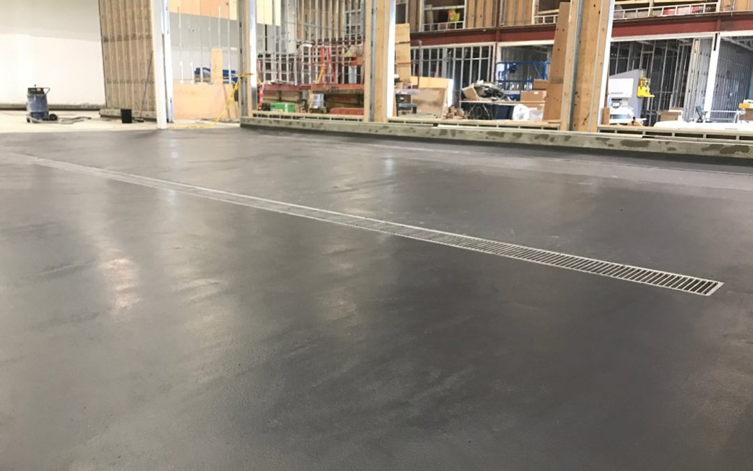 Polyurethane Concrete: Transcanada Brewery