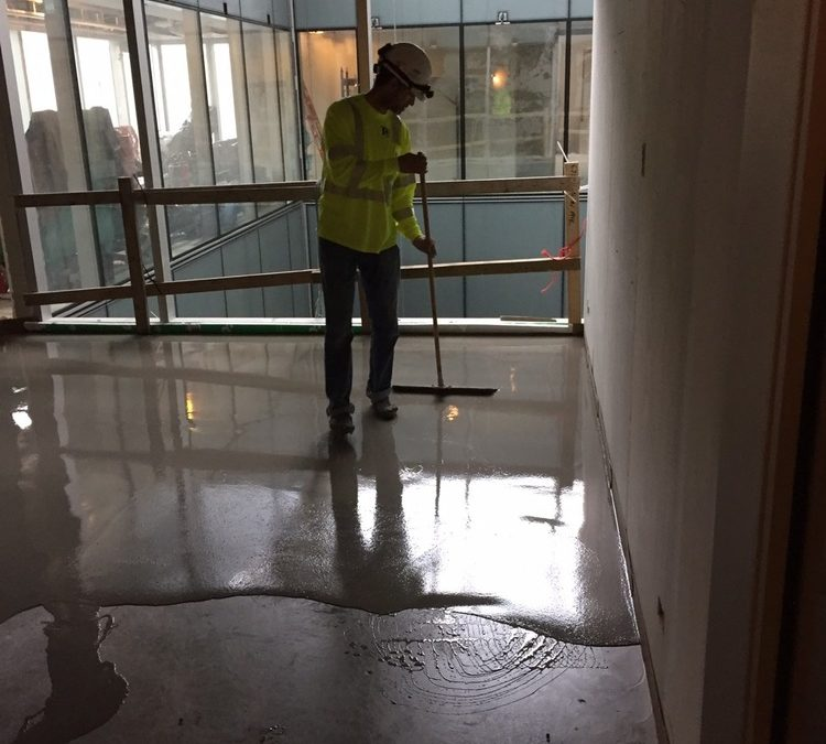 Levelling/Concrete Repair: Women's Hospital