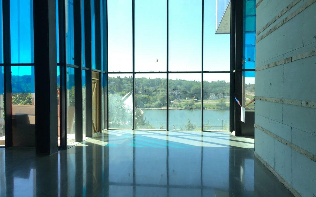 Polished Concrete/Concrete Repair: Remai Art Gallery